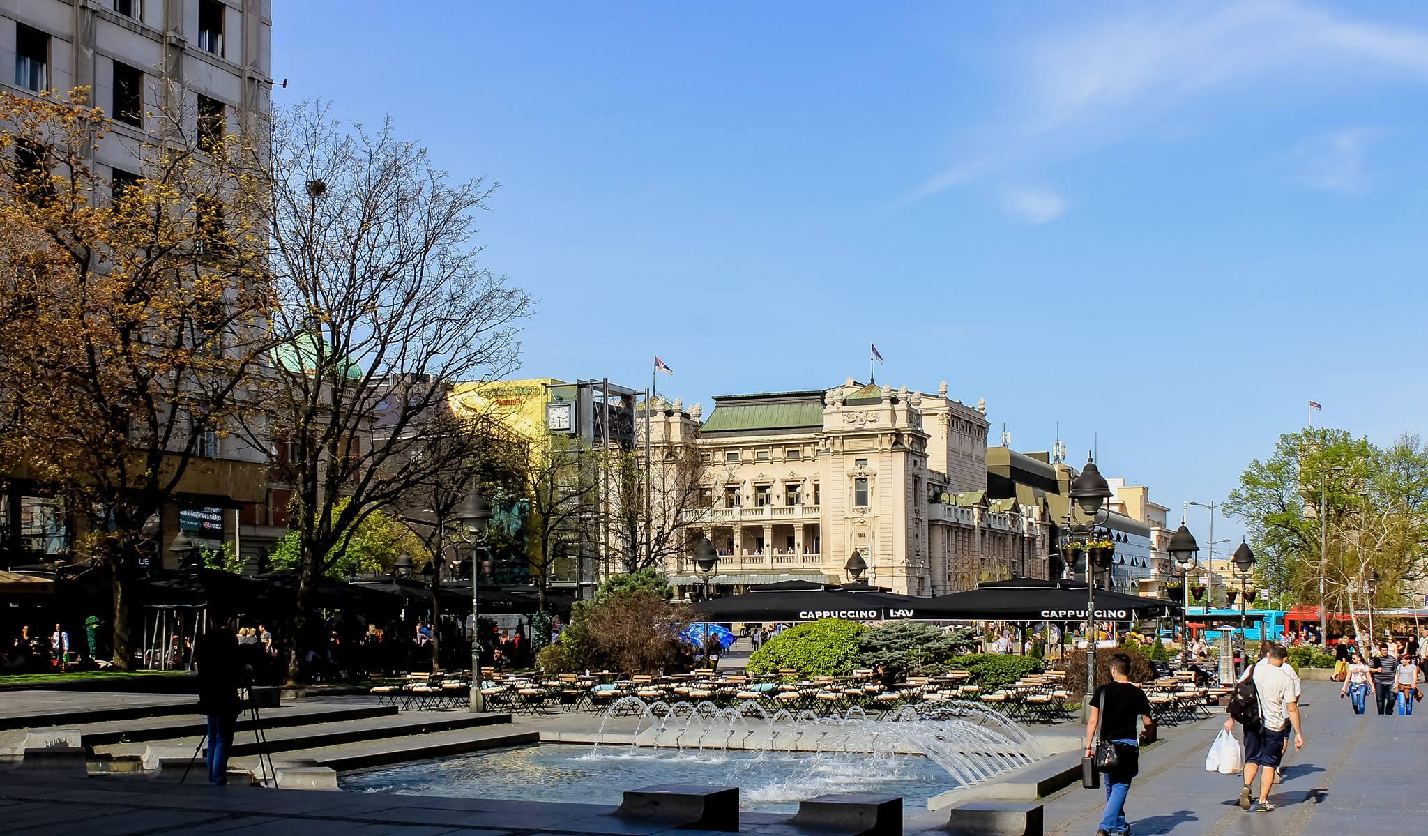 Tur kulturor ne Beograd