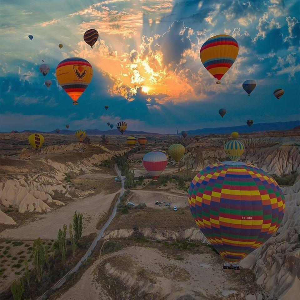 Tur kulturor ne Cappadocia - Turqi
