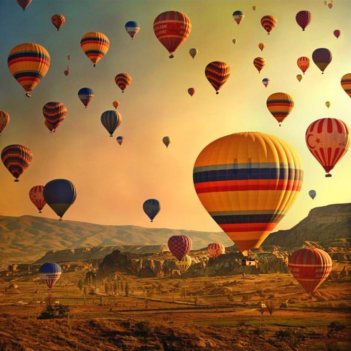 Tur kulturor ne Cappadocia