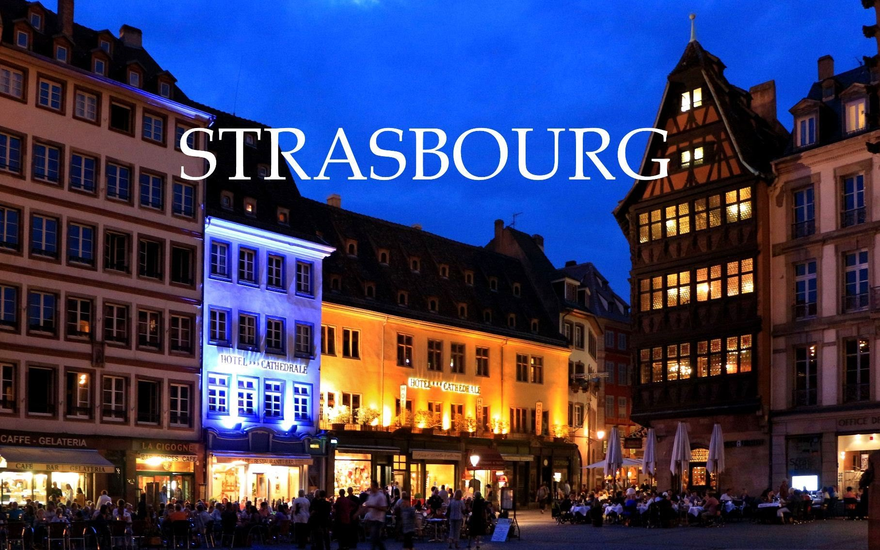Tur kulturor ne Strasbourg - Shtutgart