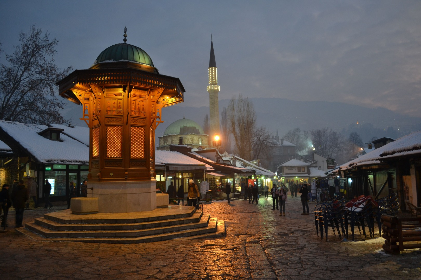 Tour  ne Sarajeve - Bosnje