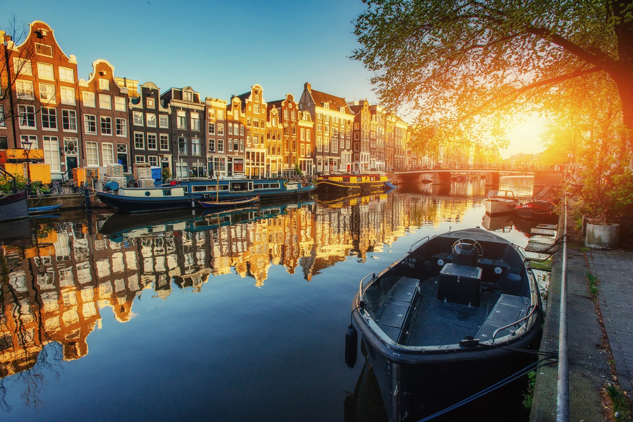 Tour ne Amsterdam, Rotterdam, Hage - Hollande
