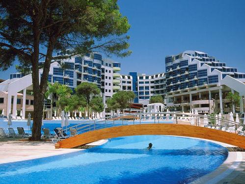 Cornelia Deluxe Resort ne Belek, Antalia