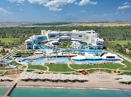 Cornelia Diamond Hotel ne Belek, Antalia