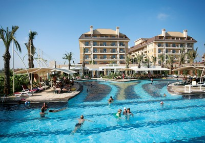 Crystal Family Resort ne Belek, Antalia