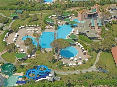 Gloria Verde Resort ne Belek, Antalia