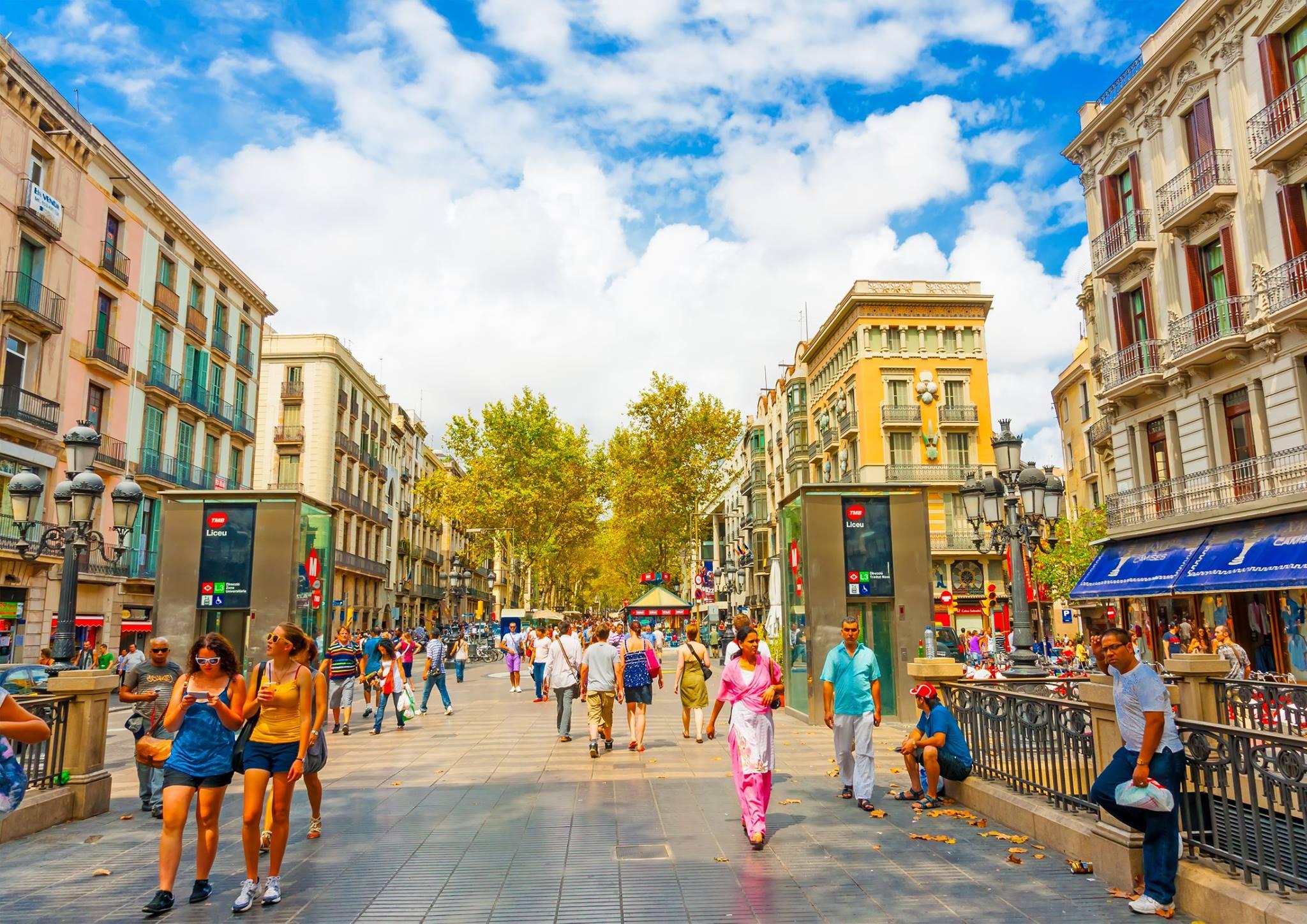 Barcelone Tour me Autobuz - Spanje