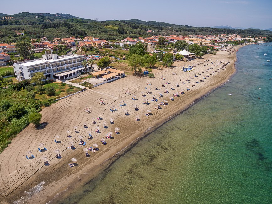 Island beach resort Kavos