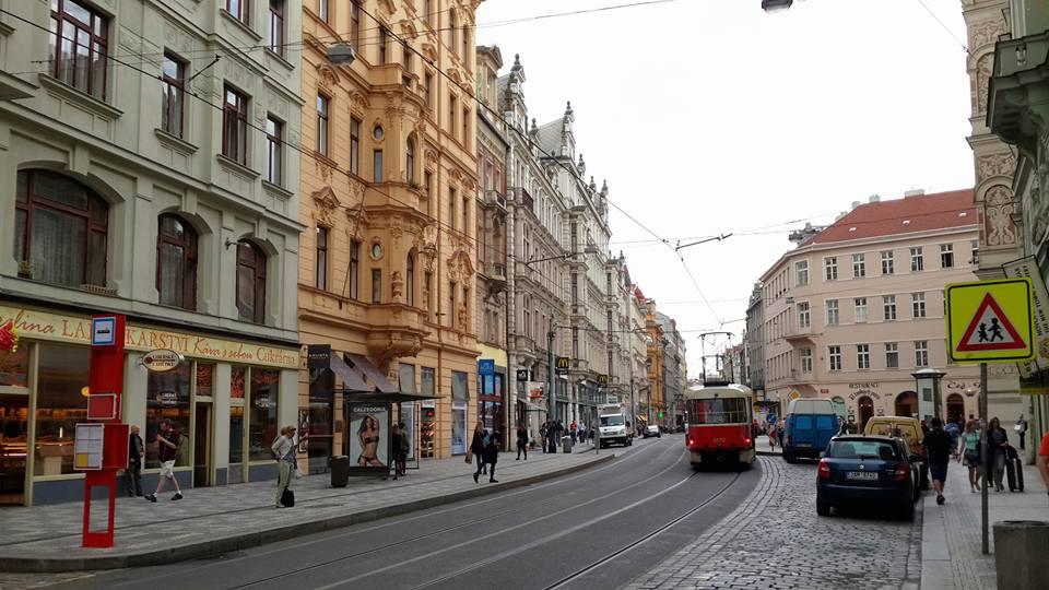 Tur ne Prage me autobuz - Ceki