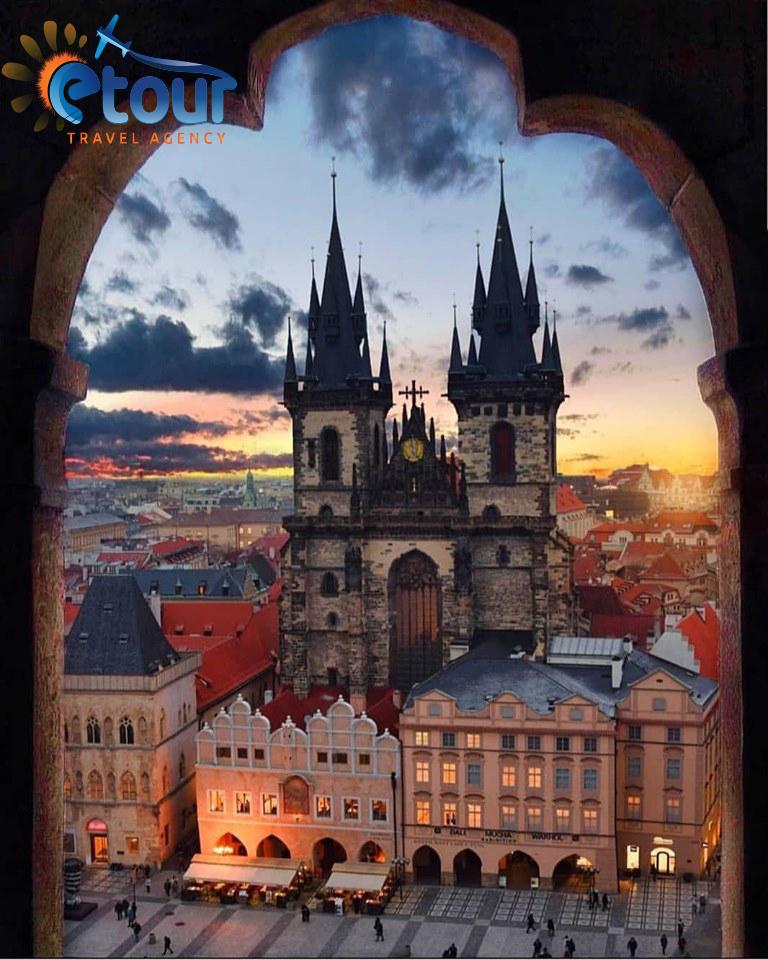 Prage-Bratislave-Budapest