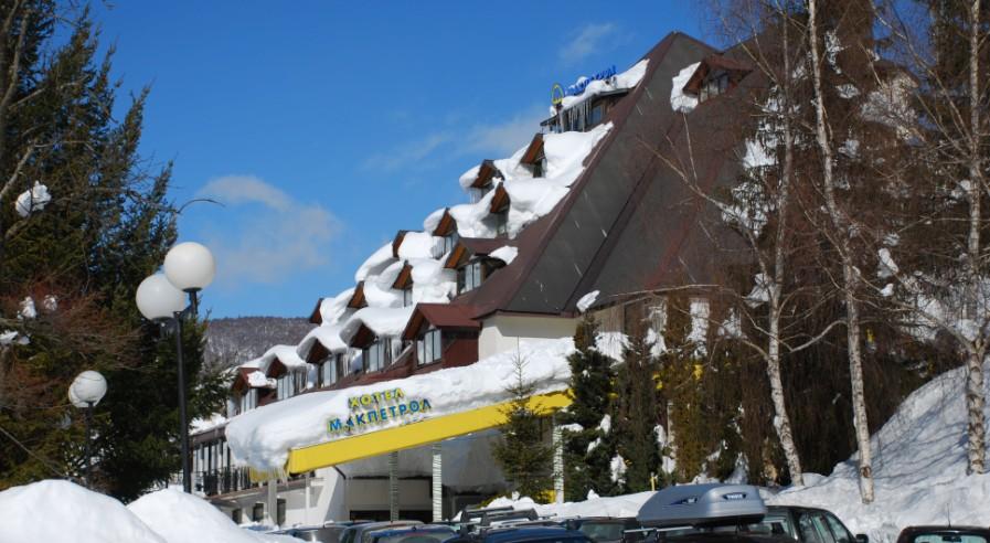 Viti i Ri ne hotel Makpetrol Mavrove - Maqedoni